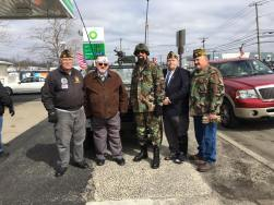 Members of the Post at the St. Patricks Day Parade