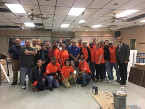 Team Home Depot Foundation grant to update the Post Hall