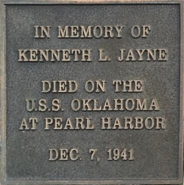 Jayne Plaque