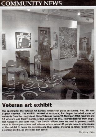 2017 veteran art show
