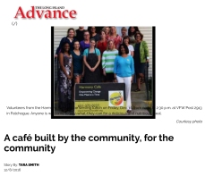 A café built by the community, for the community - Long Island