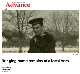 Bringing home remains of a local hero - Long Island Advance