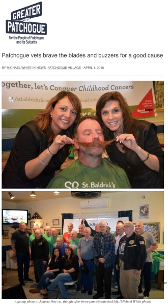 Patchogue vets brave the blades and buzzers for a good cause –
