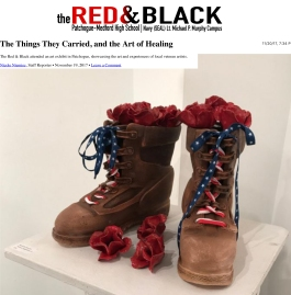 The Things They Carried, and the Art of Healing – The Red & Bl