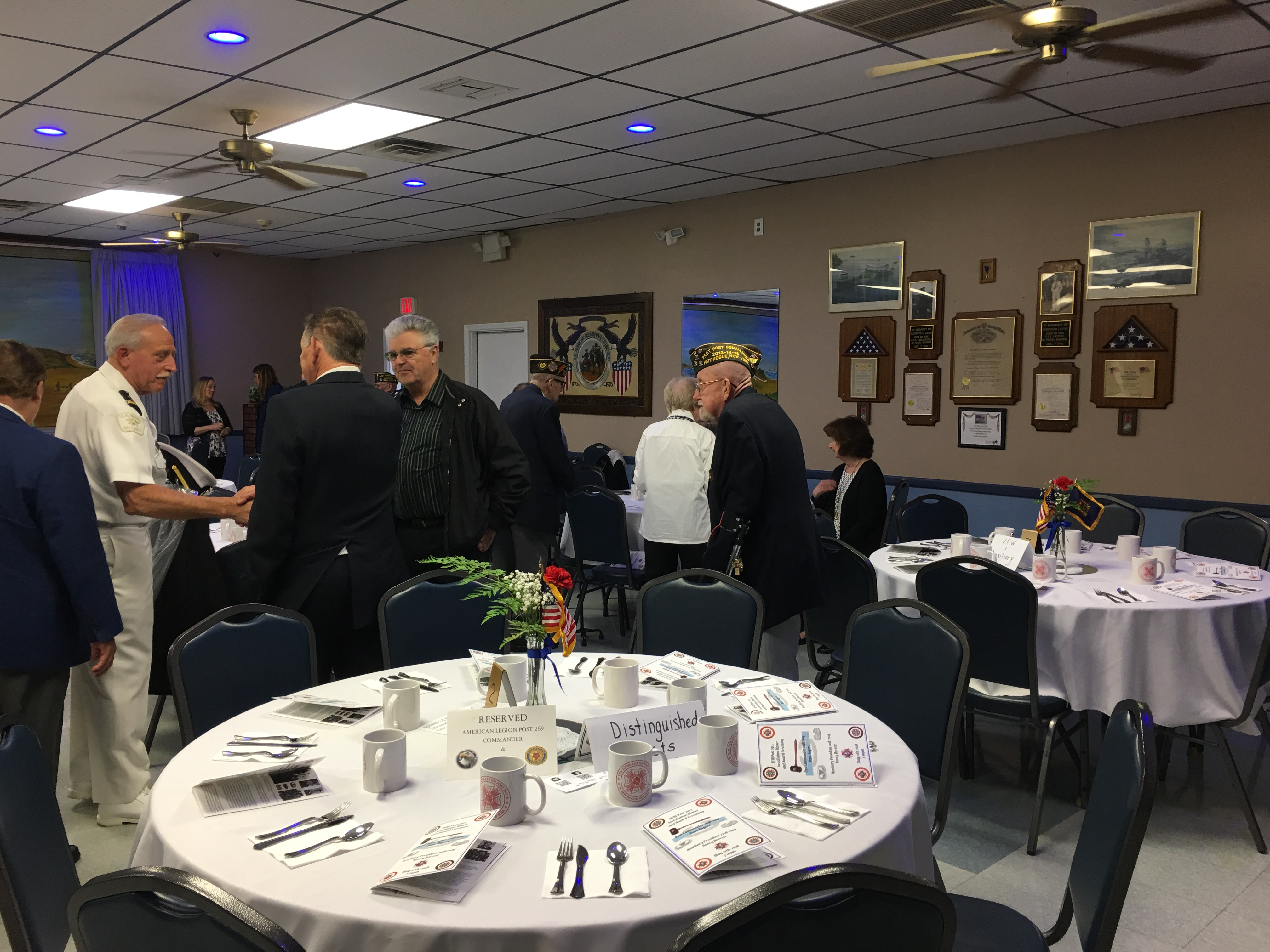 Installation Of 2018-2019 Officers And Award Banquet